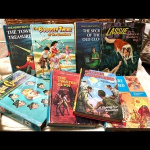 Set of vintage kids books